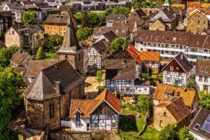 Altbauten Siedlung