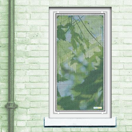 Beispiel Fenster Breite 75 cm