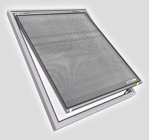 Dachfenster mit Varosun Hitzeschutz