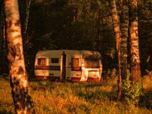 Camping im Schatten