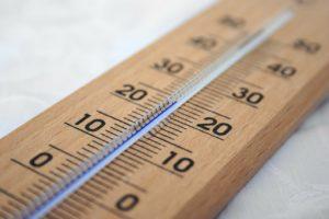 Gleichmäßige Temperaturen