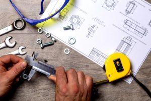 Handwerkzeuge fürs Einbauen
