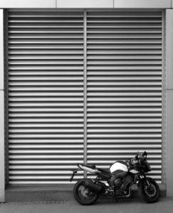 Lamellen Außenfassade