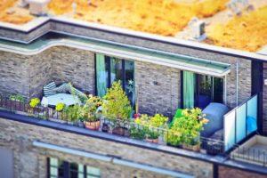 Terrasse ohne Überdachung